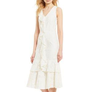 Antonio Melani Sami Ruffle Tiered Midi Dress